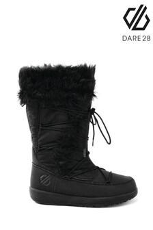 Dare 2b Black Cazis Cosy Faux Fur Junior Boots