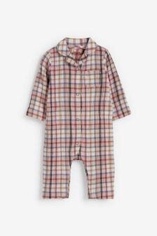 חליפת שינה פיג'מה ארוגה (0 חודשים עד גיל 3)