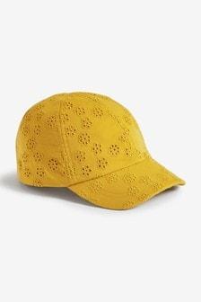 繡花棒球帽 (3個月至6歲)