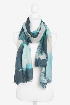 Watercolour Scarf