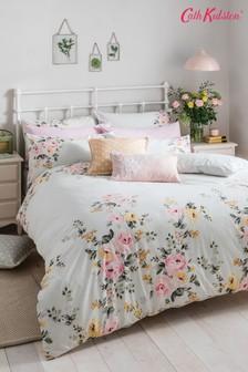 Cath Kidston® Vintage Bunch set van katoenen dekbedovertrek en kussensloop met bloemenprint