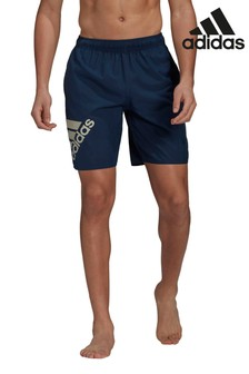 adidas Classic Badge Of Sport Logo Swim Shorts