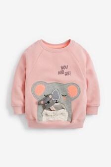 Interactive Koala Sweatshirt (3mths-7yrs)