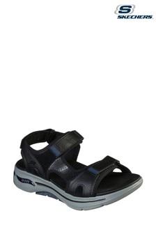 Skechers® Black Go Walk Arch Fit Sandals
