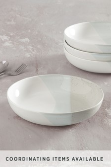 Grey Ren Set of 4 Pasta Bowls