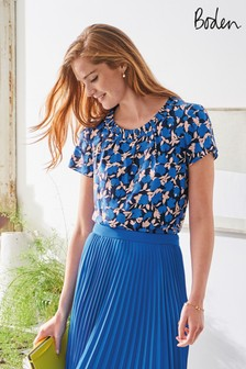 Boden Blue Carey Top
