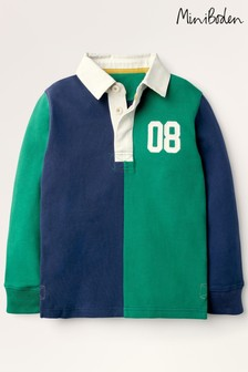 Boden Green Rugby Shirt