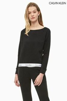 Calvin Klein Modernes Lounge-Sweatshirt aus Baumwolle