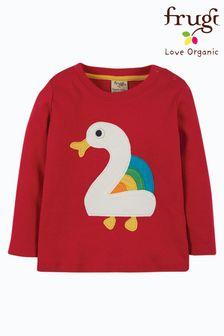 Koszulka z bawełny organicznej Frugi z okazji 2 urodzin