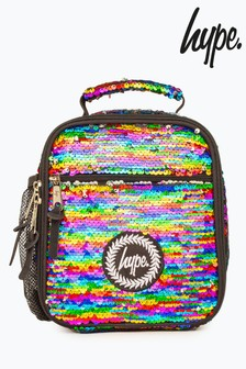 Hype. Rainbow Sequin Lunchbox