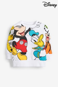 Mickey™ And Friends Crew Neck Sweat Top (3mths-8yrs)