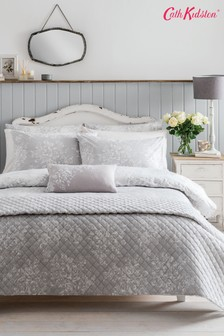 Cath Kidston® Washed Rose set van katoenen dekbedovertrek en kussensloop met bloemenprint