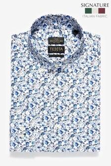 Рубашка из итальянской ткани Signature