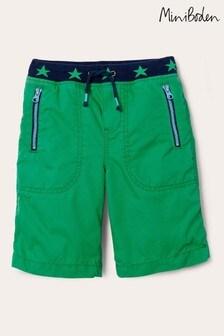 Boden Adventure Shorts, Grün