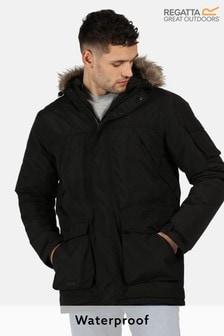 Regatta Black Salinger Ii Waterproof Jacket (430650) | $116