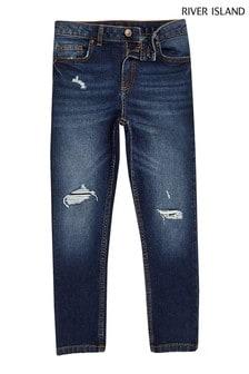 River Island藍色Sid牛仔褲