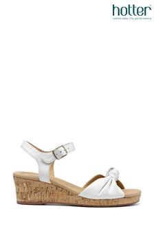 Hotter Palmas Buckle Fastening Wedge Sandals