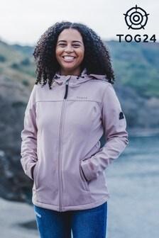 Tog 24 Pink Keld Womens Softshell Hoodie