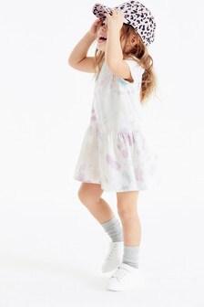 GOTS Organic Tie Dye Dress (3mths-7yrs)