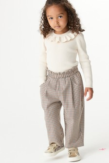 Printed Check Trousers (3mths-7yrs)