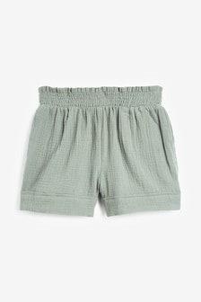Фактурные хлопковые шорты