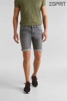 Esprit Denim-Shorts, Grau