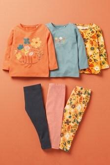 3 Pack Organic Cotton T-Shirts (3mths-7yrs)