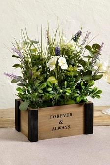 Bronx Faux Floral Box