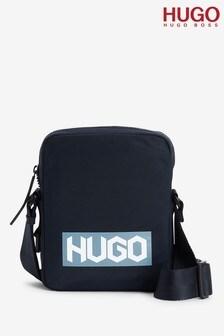 HUGO藍色Record拉鍊袋款
