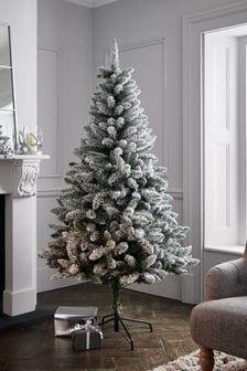 6ft Snowy Christmas Tree (434663)   $144