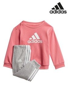 adidas Infant Crew And Joggers Set