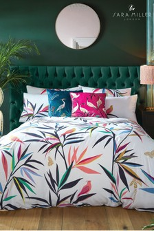 Sara Miller Bamboo Duvet Cover and Pillowcase Set