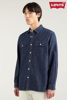 Levi's® Dark Wash Denim Shirt