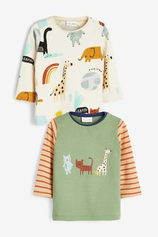 2 Pack Character T-Shirts (0mths-2yrs)