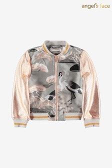Angel's Face Grey Sandy Heron Jacket