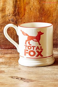 Emma Bridgewater Total Fox Half Pint Mug