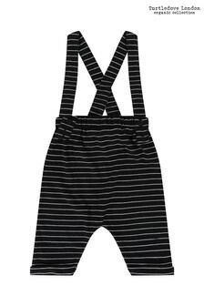 Turtledove London Black Stripe Bracer Trousers