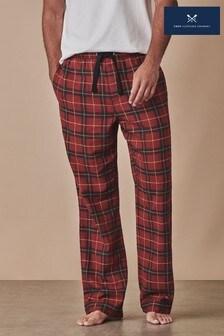 Crew Clothing Company Orange Sunday Lounge Trousers