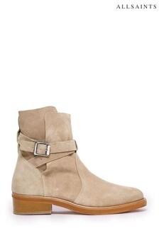 AllSaints Carla Ankle Suede Boots