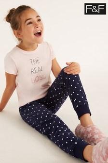 F&F Pink Pyjamas