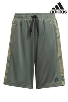 adidas Performance Khaki Camo Shorts