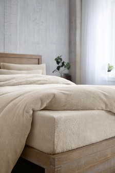 Teddy Fleece Deep Fitted Sheet