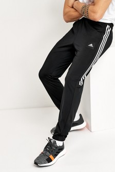 adidas Black Must Have 3 Stripe Joggers