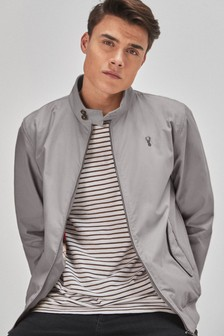 Shower Resistant Harrington Jacket