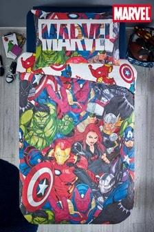 Marvel® Avengers Reversible Duvet Cover and Pillowcase Set