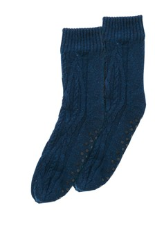 Vypletané ponožky do papúč
