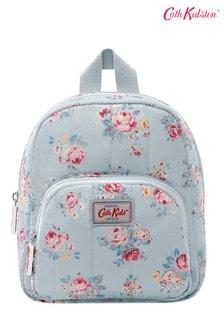 Cath Kidston® Kids White Briar Rose Mini Quilted Rucksack