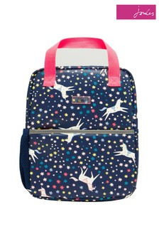 Joules Blue Adventure Rubberised Backpack