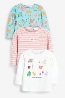 3 Pack Character T-Shirts (0mths-2yrs)