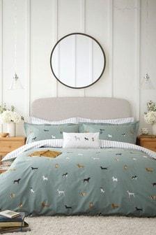 Sophie Allport Fetch Moss Bed Set